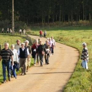 La seniors houffalois entre Cowan et la Charmille. 2007.