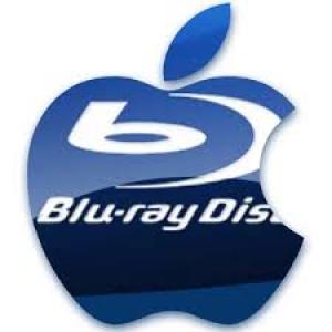 Blue-Ray avec logo Apple