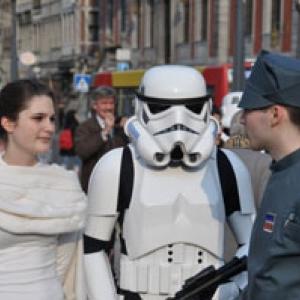 La semaine fantastique à Liège: Darth Vader Balloon et Bal des Jedi