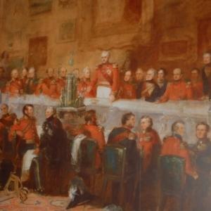 Banquet de Wellington de celebration de victoire