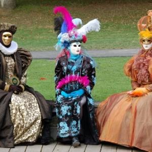 Les Costumés de Venise à Chevetogne