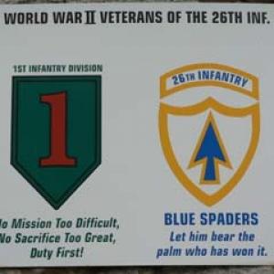 26th regiment 1st US Division