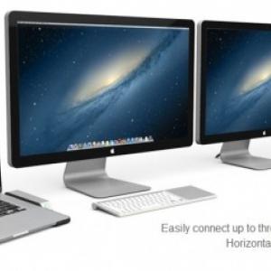 Henge Horizontal Dock pour Mac Book Pro Retina