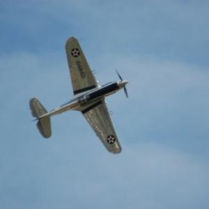 Curtiss Warhawk P-40C
