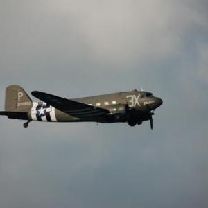 C47 Dakota - Libery Jump (Bastogne)