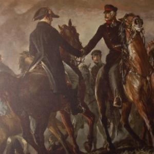 Blucher rencontre Wellington