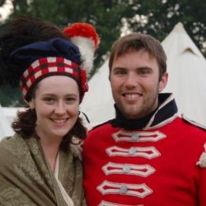 La camaraderie des troupes ecossaises (Hougoumont)