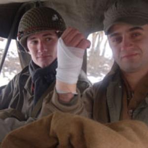 Un soldat blesse