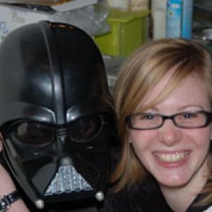 Dark Vador et sa copine