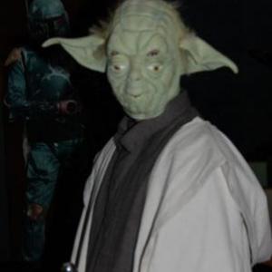 Maitre Yoda en personne!
