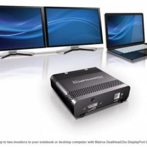 Matrox DualHead2Go DisplayPort