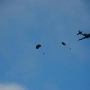 Larguage des paras (Liberty Jump) (Bastogne)