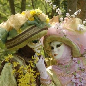 Les Costumés de Venise à La Marlagne et aux Jardins d'Annevoie