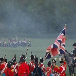 L'attaque anglaise (Hougoumont)