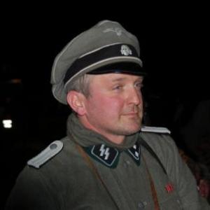Officier allemand (show nocturne HMRA) (Vaux-sur-Sure)