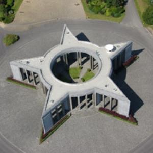 Mardasson vu du ciel (Bastogne)