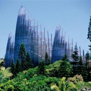 Centre Culturel Tjibaou - (c) Centre Culturel Tjibaou - ADCK - Renzo Piano, Architecte