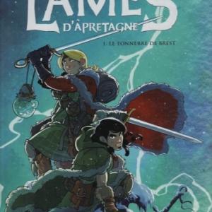 Les Lames d'Âpretagne , Tome 1 - Le tonnerre de Brest, chez Casterman