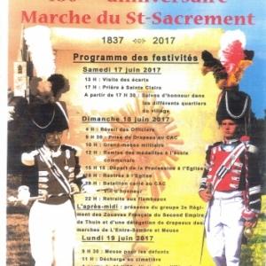 180ème Marche du St-Sacrément à Boussu-lez-Walcourt