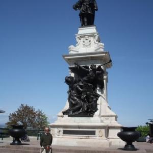 statue montcalm
