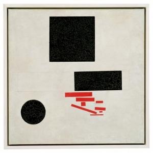 Kasimir Malévitch (1878, Kiev-1935, Leningrad), Suprematische compositie, 1915, copyrightFondation Beyeler, Basel