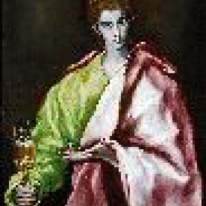 De heilige Johannes de Evangelist