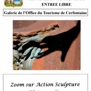 L'exposition Zoom sur Action Sculpture à Cerfontaine
