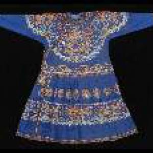 Dark Blue Sacrificial Robe Emperor Jiaqing 1796-1820 © Palace-Museum