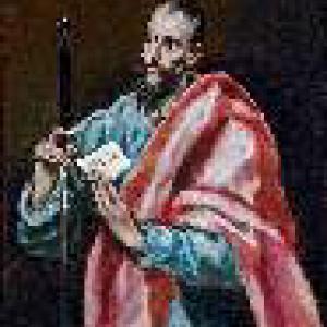 El Greco, de heilige paulus