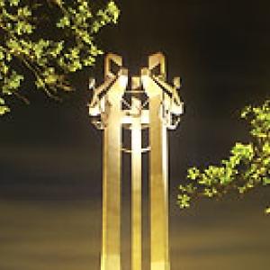 het monument voor solidarnosc