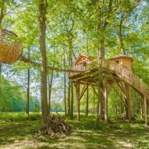 Cabane LovNid Spa Zen © Cabanes des Grands Chênes