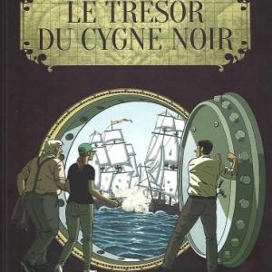 Le trésor du Cygne noir, BD adaptée du roman de Guillermo Corral Van Damme