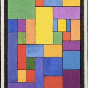 Georges Vantongerloo (1886-1965), Studie nr. III, 1920, Museum voor Schone Kunsten, Gent