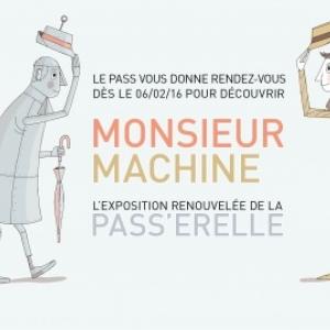 Rendez-vous au Pass à Frameries avec Monsieur Machine