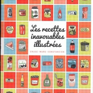 Recettes inavouables illustrées, dans la collection Tapas Guides