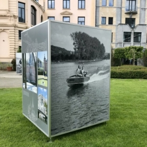 VIES DE MEUSE, une exposition itinérante pour les amoureux de la Meuse.