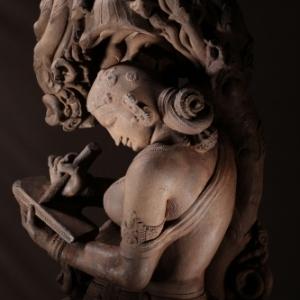 Surasundari_(Patralekha),_Chandela,_10th_C,_Indian_Museum,_Kolkata__Bandeep_Singh