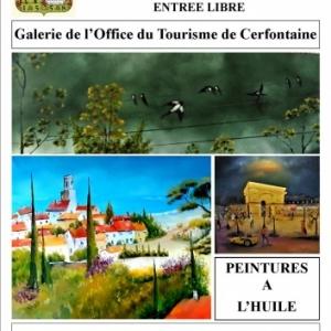 Exposition du peintre Guy Clicheroux à Cerfontaine