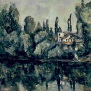 Paul Cézanne (1839–1906), De oevers van de Marne [Les bords de la Marne], © State Hermitage Museum, St Petersburg