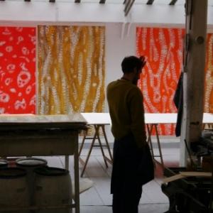 vue de l'atelier de woolworth