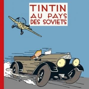 TINTIN AU PAYS DES SOVIETS EN COULEURS