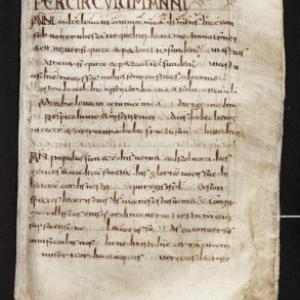 L' « Antiphonaire du Mont-Blandin », VIIIe siècle, parchemin, KBR