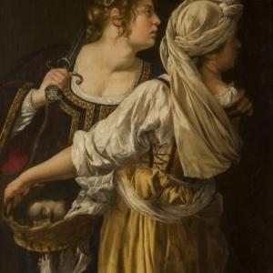Artemisia Gentileschi, Judith and her maid