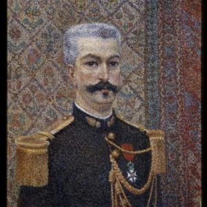Albert Dubois-Pillet, Portret van mijnheer Pool, 1887