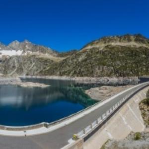 Cap del ong - barrage et lac