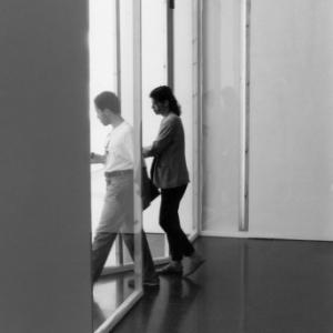 5. Richard Venlet, Mirades, view on the museum, Macba, Barcelona, 1996.