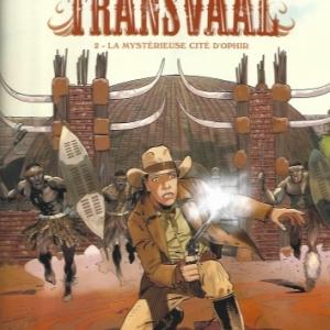 Les Aventuriers du Transvaal - Tome 2. La Mystérieuse cité d'Orphir