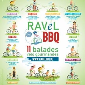 RAVeL des BBQ, 11 balades gourmandes au Pays des Vallées