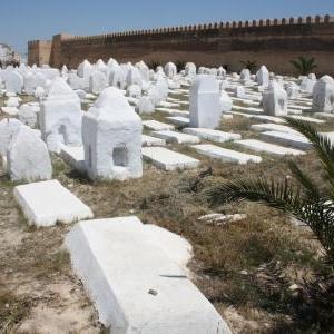 islamitisch kerkhof kairouan