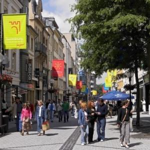 voetgangerszone - shoppingcentrum